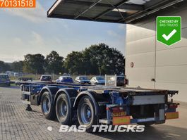 container chassis semi trailer Lag 0-3-39 CD 3 axles ADR 1x 20 ft 1x30 ft 2004
