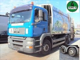 garbage truck MAN TGA 26.320 Müllwagen 6x2 Lenk 6 Zylinder Schörling 3R 24 SEW mit Schüttung 2006