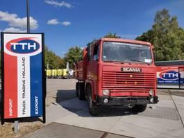 tipper truck > 7.5 t Scania LBS 110 6x2 | Tipper | Manual | Fullsteel | Unique truck 1976