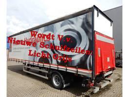 sliding curtain semi trailer Fruehauf FRANCE ONCRS 22-110 A - 1 As Oplegger Schuifzeil, OH-22-LR 2004