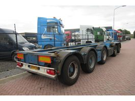 Container-Fahrgestell Auflieger Broshuis 2CONNECT-5AKCC / 3x Steering axle 2008