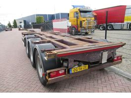 container chassis semi trailer Nooteboom FT-43-03V / 3x Extendable / 2x Lift axle 2002