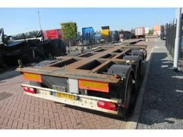 Container-Fahrgestell Auflieger D-TEC FT-43-03V / 3x Extendable / Lift Axle 2007