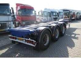 Container-Fahrgestell Auflieger D-TEC FT-43-03V / 3x Extendable / Lift Axle 2008
