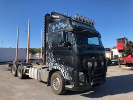 timber truck Volvo FH750, 6x4, Euro 5, Timber-truck, 2013 2012