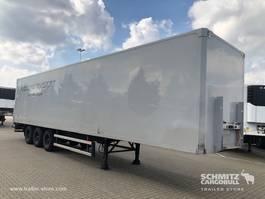 closed box semi trailer Groenewegen Kasten Standard 2008