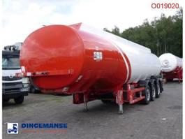 tank semi trailer semi trailer Cobo Fuel tank alu 38.1 m3 / 6 comp 2009