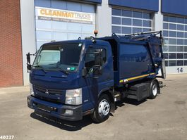 garbage truck FUSO Canter 9C15 Duonic 7m3 2016