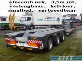 lowloader semi trailer Broshuis 3ABD-48 ONGEBRUIKTE  EURO DIEPLADER 2007