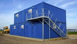 Kühlwagen-gekühlt Versandcontainer Nieuw! Containertrap en bordes 2020