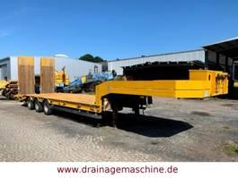 lowloader semi trailer Müller-Mitteltal T 30 Tieflader Wirtgen hydraulische Rampen
