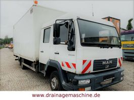 closed box lcv < 7.5 t MAN MAN 8.180 Koffer DoKa LBW 2 x AHK 6 Sitze