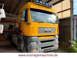 cab over engine MAN 18.430 BLS 4x2 SZM  Showtruck Wirtgen