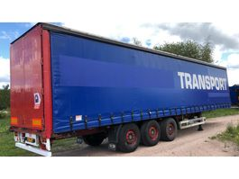 sliding curtain semi trailer Pacton T3-011 3 As Oplegger Schuifzeil, OJ-79-XJ 2007