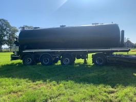 Tankauflieger Auflieger Parcisa CA-3EW 36 m³ tankoplegger met pomp \ mest \ Gulle en Wegen Monsteren 2000