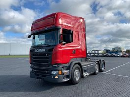 cab over engine Scania R520, Steering pusher, euro6, automatic 2016