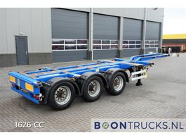 container chassis semi trailer Pacton T3-010 | 2x20-30-40-45ft HC * MULTI CHASSIS 2008