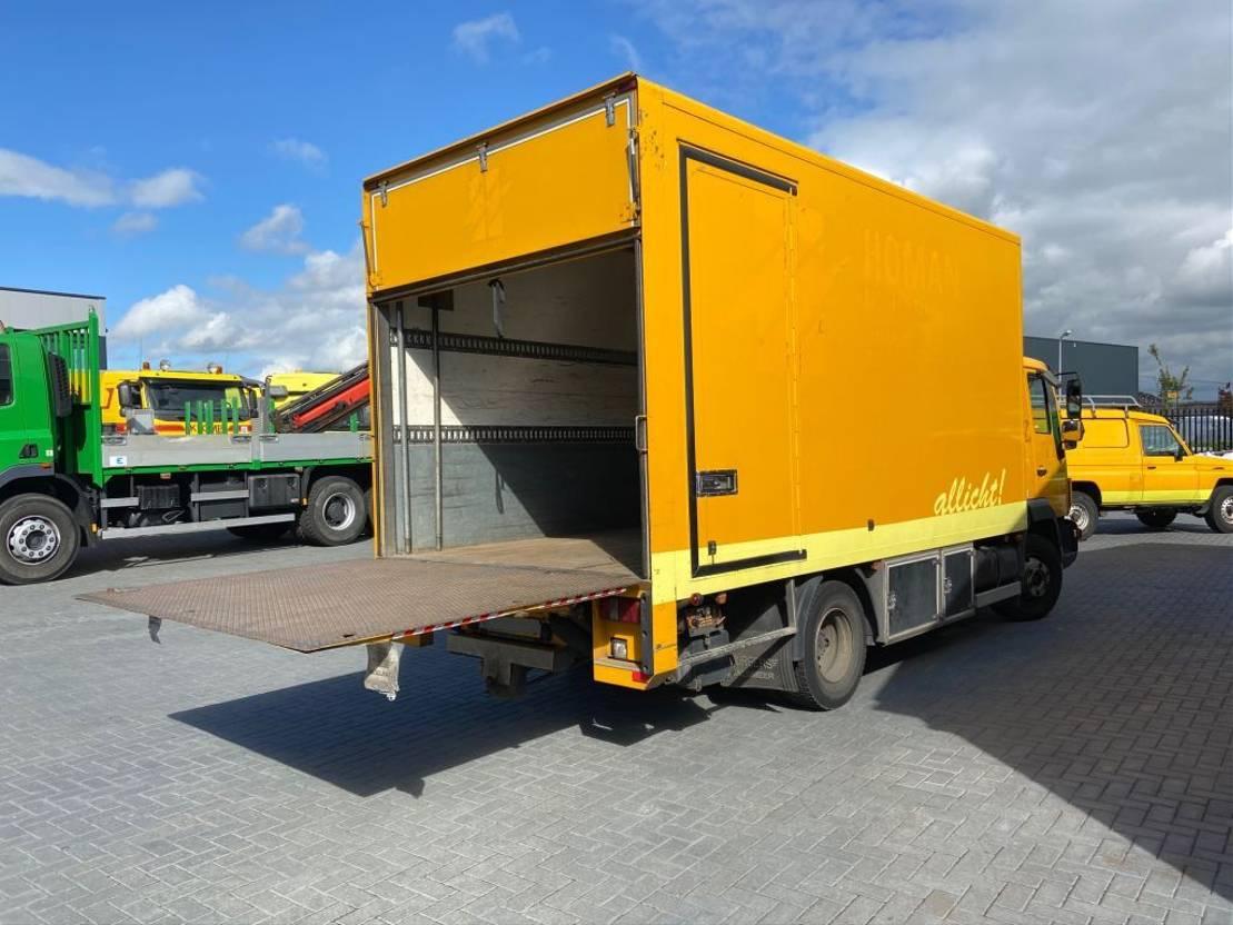 closed box truck > 7.5 t MAN 12.180 2003