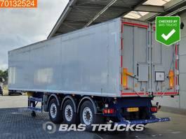 tipper semi trailer Benalu Optiliner  3 axles 58m3 Alu-Kipper Liftachse 2014