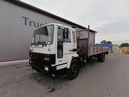 platform truck Volvo FL6-17 - Full Steel - Tipper with Platform 1990