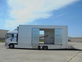 car transporter truck MAN TGL 12-250 2010
