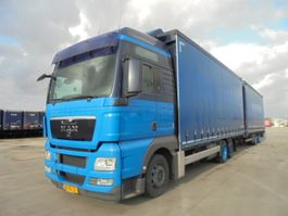 sliding curtain truck MAN TGX 24-400 6X2 2009