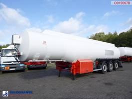 tank semi trailer semi trailer Cobo Fuel tank alu 41 m3 / 6 comp + pump/counter missing documents 2006