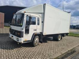 closed box truck > 7.5 t Volvo FL6 11 8BOLTS TAILGATE/LAADKLEP/HOLLAND TRUCK 1988