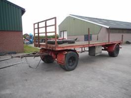 bale trailer DAF 4 wielige wagen