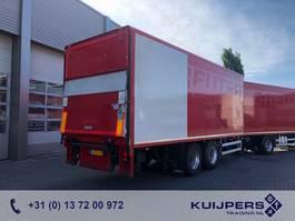 remolque de caja cerrada Netam-Fruehauf 2as Drum / Box / Loadlift  1500 kg / COMBI 1998