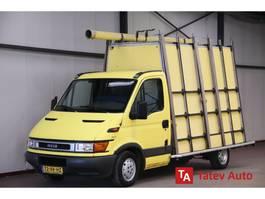 glass transporter lcv Iveco Daily 29L11 chassis GLASRESTEEL Glastransporter 107PK 2000