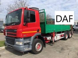 platform truck DAF CF 85.430 6X4 EURO 3 2006