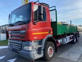 drop side truck DAF CF 85.430 6X4 EURO 3 2006