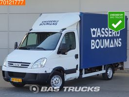 closed box lcv < 7.5 t Iveco Daily 35S14 140pk Bakwagen Laadklep Koffer LBW Zijdeur 14m3 2006