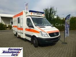 ambulance lcv Mercedes-Benz 518 CDI RTW Fahrtec-Koffer ATG 2007