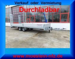 lowloader semi trailer Möslein TTT 11- 7,28  Neuer Tandemtieflader, 7,28 m Ladefläche 2020