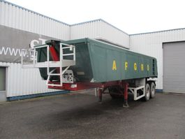 tipper semi trailer MOL 2 axle Hardox tipper , Air suspension 2007