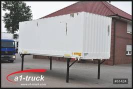 swap body box container Krone 7,45 Wechelbrücke Textil / Koffer , guter Zustand 2005