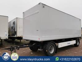 remolque de caja cerrada Krone 2 AXLES DRYLINER back doors 2013