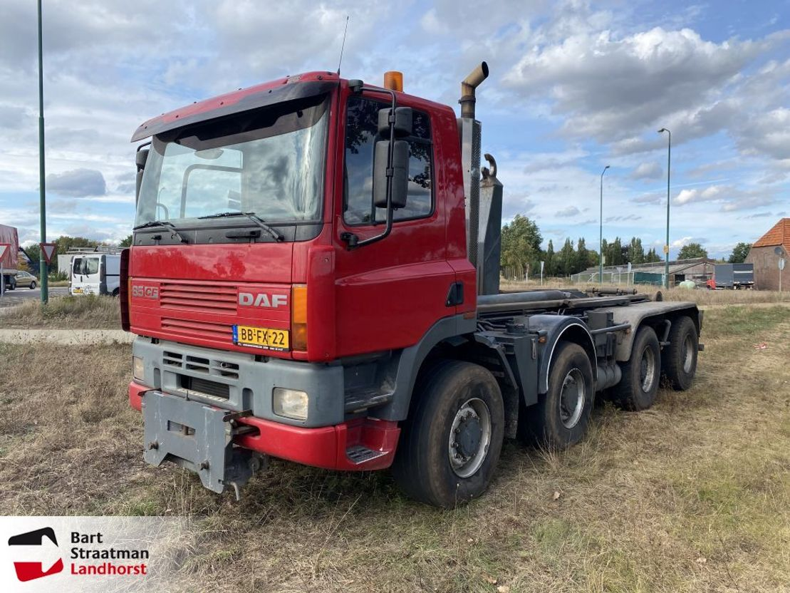 container truck Ginaf M4243-S DAF ATI 360 8x4 Haakarm EURO1 1994