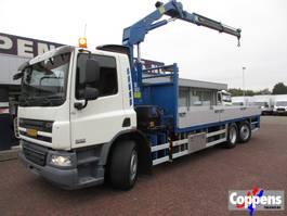 camión grúa DAF CF 75.250 Euro 5 2011