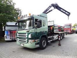 crane truck Scania P420 6X2 ATLAS 155.1 2008