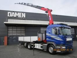 crane truck Scania G 490 LB 6x2 Euro 6 2014