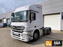 cab over engine Mercedes-Benz Actros 1841 4x2 F04 MP3 16-SP GEARBOX PTO HYDRAULIC 2012
