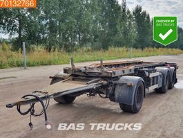 container chassis trailer Burg BPA 09-18 ACXXX-00 3 axles 2003