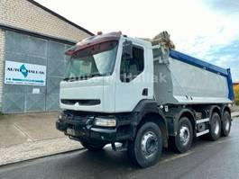 tipper truck > 7.5 t Renault Kerax 420 dCi 8x4 Mulden Kipper BIG AXEL