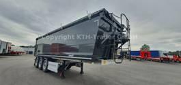 tipper semi trailer Benalu Voll- Alu Kippersattel / Bulkliner S 9500 49.2m³
