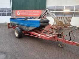 boat car trailer Vuilvisboot incl aanhanger
