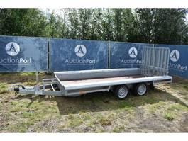 remolque completo de lateral abatible Knott 2700kg