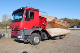 tipper truck > 7.5 t Mercedes-Benz 2648 K - 6x4 - AROCS - 201.752 Km - EURO 6 - BORDMATIC